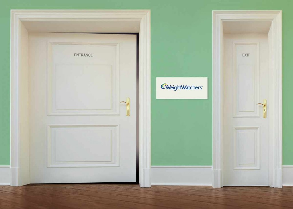 Weightwatchers door commercial